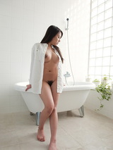 Mei Matsumoto - Busty naked shower 04