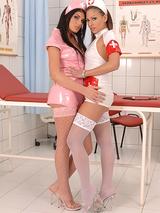 Raunchy Nurses Intense Physical 14