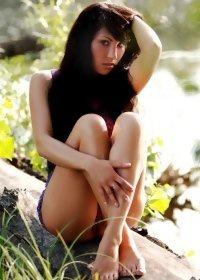 Beautiful dreamy girl, Elda