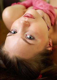 Innocent Brunette Teen Amelie