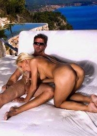Justine AShley In Ibiza Sex Party