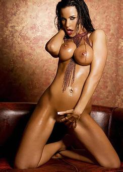 Oiled Nude Laura Lee