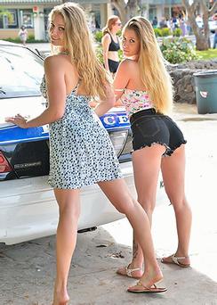 Nicole And Veronica Back To Waikiki