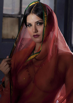 Sunny Leone Beautiful Indian Princess